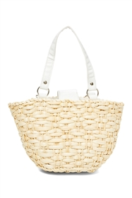 wholesale cornhusk basket purses set of 2