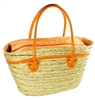 wholesale seagrass tote  pu handles -  defect