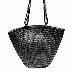 wholesale metallic straw handbag