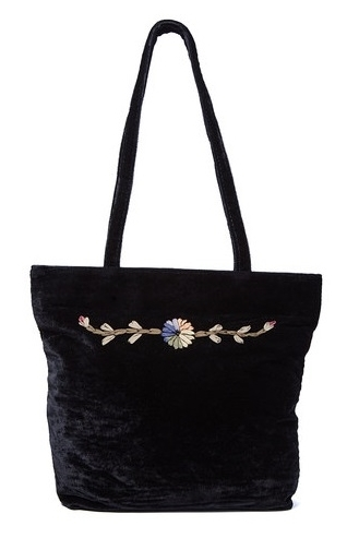Wholesale Vintage Tote Bags - Velvet Purse