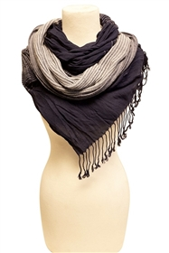 wholesale stretchy scarves thin stripes