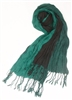 wholesale 2-tone crinkle scarf