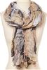 wholesale lightweight printed floral scarf