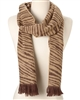 wholesale ANIMAL PRINT KNIT SCARF