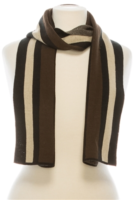 wholesale unisex vertical stripes scarf