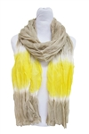 wholesale one stripe tie-dyed scarf