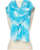 wholesale tie-dyed diamond pattern scarf assorted