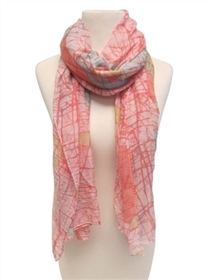 wholesale modern art style scarf