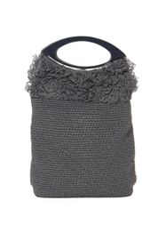 bulk crocheted handbag w/ handle