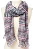 wholesale stripes  print scarf