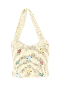 wholesale Toyo Crochet Bag w/ Embroidery