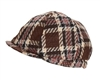 Wholesale Plaid Ivy Womens Caps