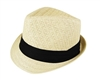 wholesale pattern woven straw fedora