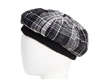 wholesale closeout berets - plaid beret hats