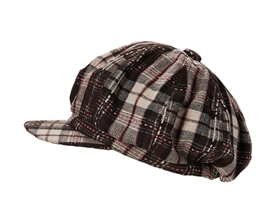 wholesale plaid newsboy