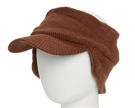 wholesale winter visors knit