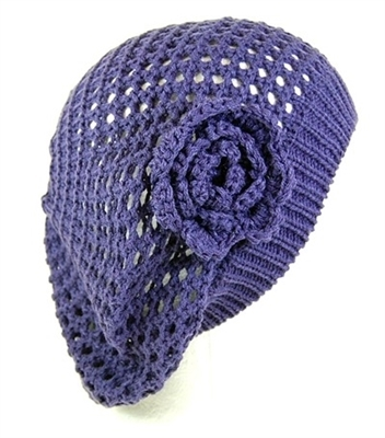 wholesale womens winter hats knit beret rosette