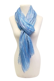 wholesale striated lurex summer scarf
