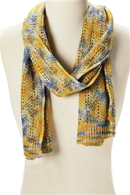wholesale space dyed knit scarf
