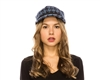 wholesale houndstooth cadet cap