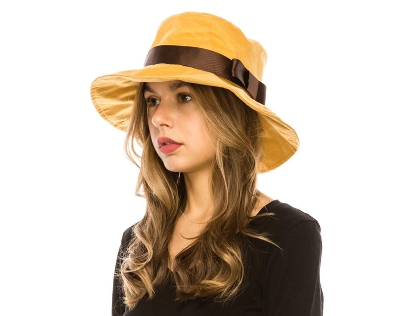 a53f81133 9929 Faux Suede Bucket Hat