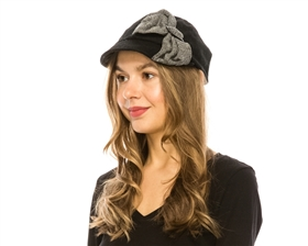 wholesale cabbie hat big bow
