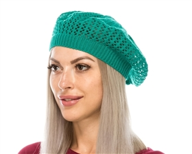 wholesale berets knit fashion accessories for women