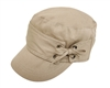 wholesale cotton cadet cap  lace tie