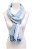wholesale tonal stripes cotton scarf