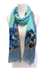 wholesale floral summer scarf