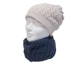 Beanie Hat or Cowl for Women and Men