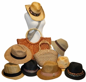 Wholesale Straw Hats Grab Bags