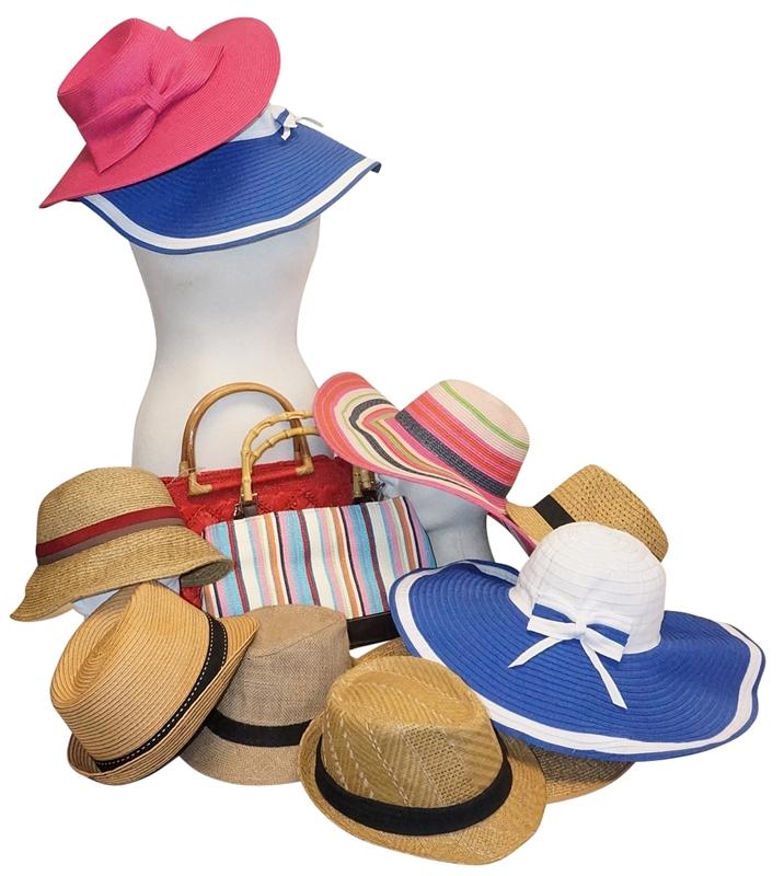 a57d141b67de6 Wholesale Spring Summer Wide Brim Hats and Fedoras Grab Bag