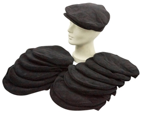 Wholesale Black Ivy Caps - Winter Accessories Hats Grab Bag