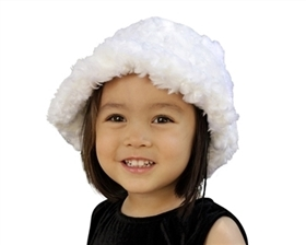 wholesale fuzzy kids winter hat