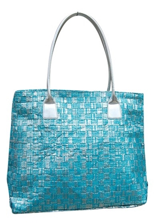 wholesale metallic paper handbag