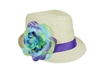 wholesale kids hats girls fedoras with flower