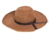 Wholesale Raffia Hats Straw Fine Crochet Sun Hat