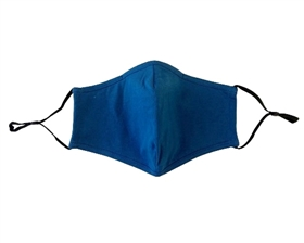 Dark Blue Cotton Facemasks - Pack of 6 ($3.50/each)