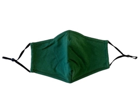 Forest Green Cotton Facemasks - Pack of 6 ($3.50/each)