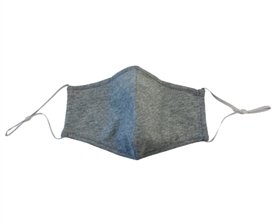 Heather Grey Cotton Facemasks - Pack of 6 ($3.50/each)