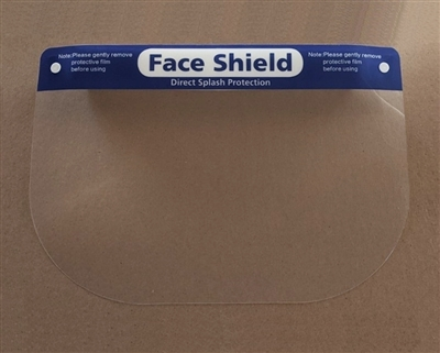Pack of 5 - Face Shields ($4.00/each)