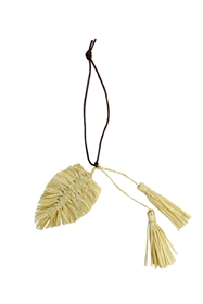 Wholesale leaf Shape Straw Tassels Wholesale Los Angeles