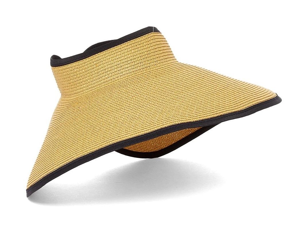 4fd351018c702 Oversized Sun Visor Hats Wholesale - Roll-Up Travel Visor