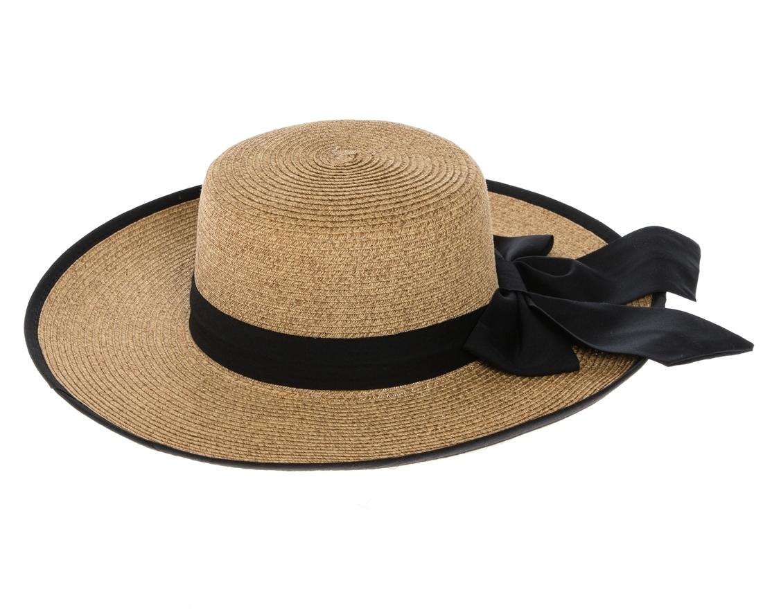 777f9e98ac2350 Wholesale Womens Straw Sun Hats Bow - Heathered
