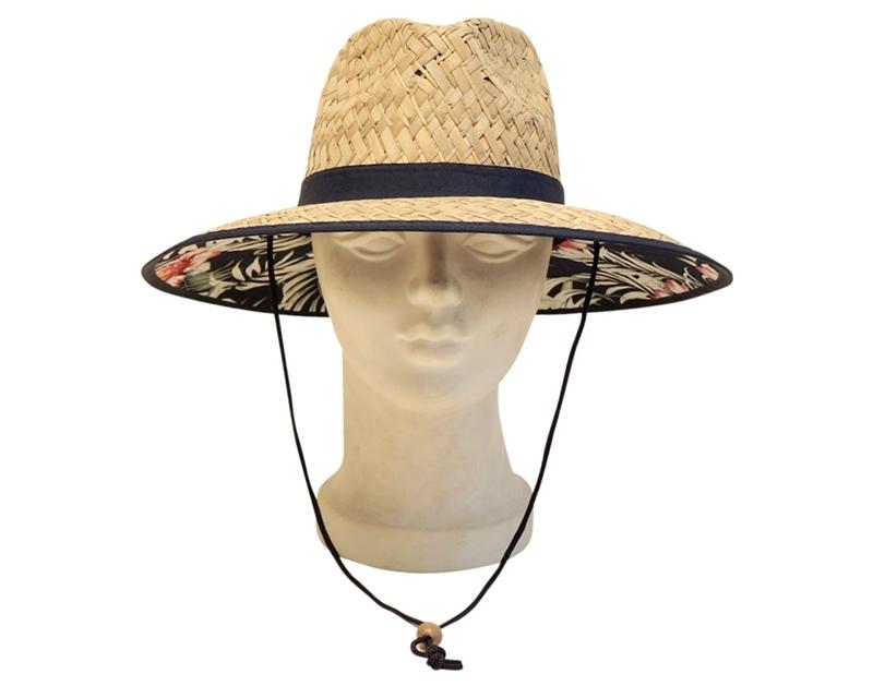 fbde63694 wholesale straw lifeguard hats hawaii hibiscus flowers